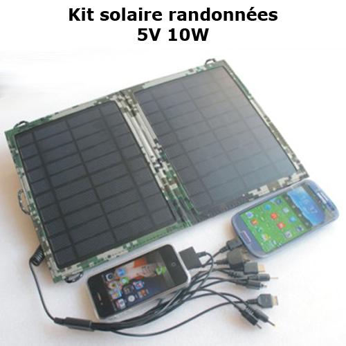 kit solaire randonnees 10W