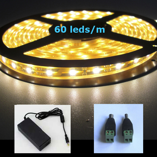kit strip led smd 3528 60 led au metre
