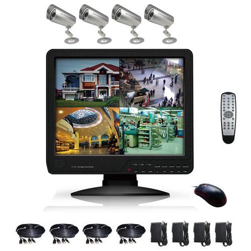 kit video surveillance KITVIDCB2