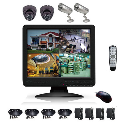kit video surveillance KITVIDCB3
