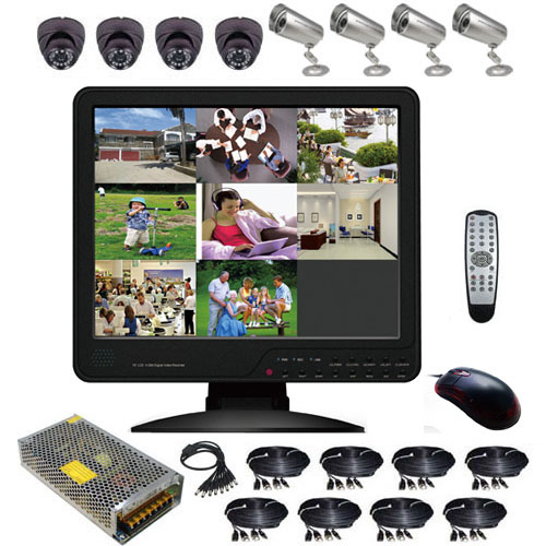 kit video surveillance KITVIDCB4