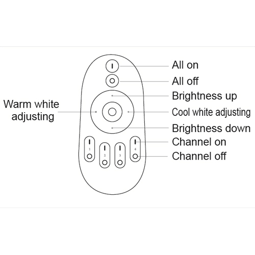 lampe led bicolore 6W LAMPBI6W pic3