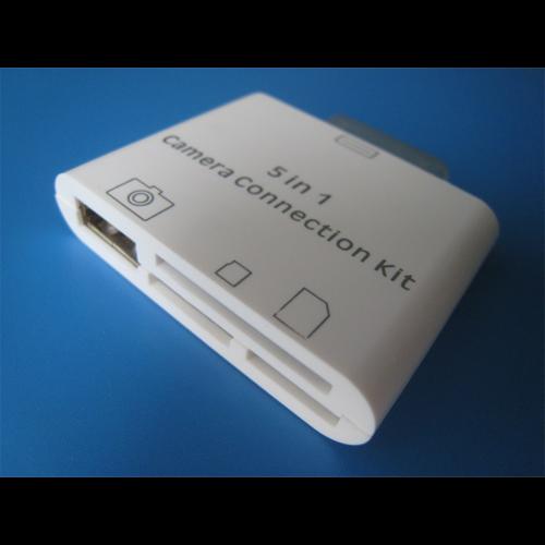 lecteur cartes memoire et photos Ipad