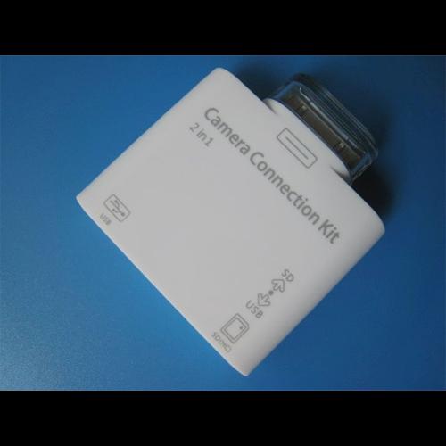 lecteur cartes memoire et photos Ipad 3341