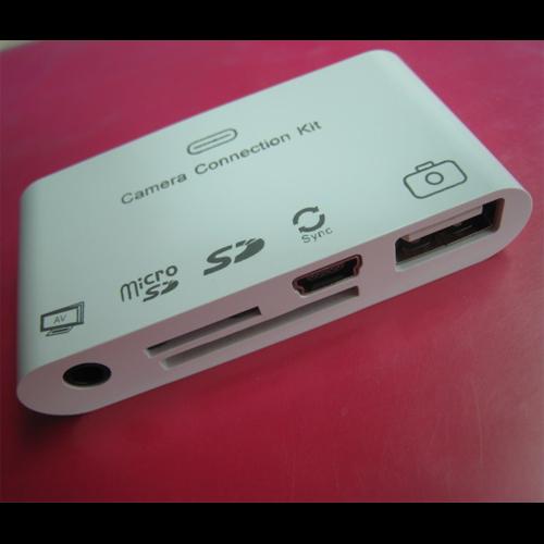 lecteur cartes memoire et photos USB Ipad
