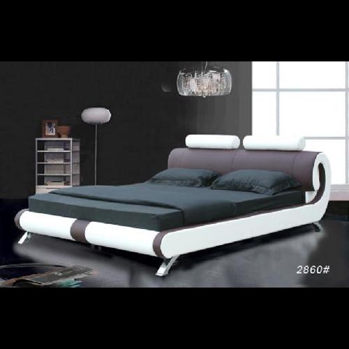 lit en cuir ou pu mod le chc2860 sur grossiste chinois import. Black Bedroom Furniture Sets. Home Design Ideas