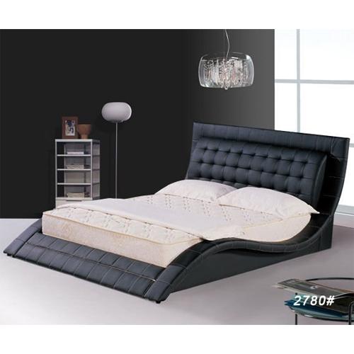 Lit en cuir ou pu mod le chc2780 sur grossiste chinois for Grossiste chinois meuble