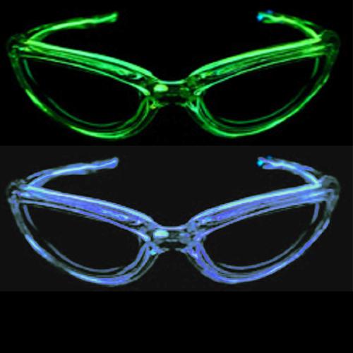 lunettes lumineuse led