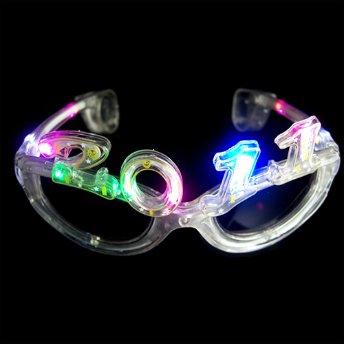 lunettes lumineuse nouvel an