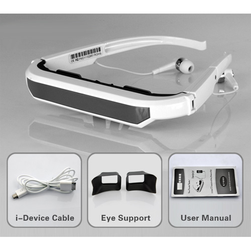 lunettes video virtuelles pour Ipad Ipod Iphone pic7