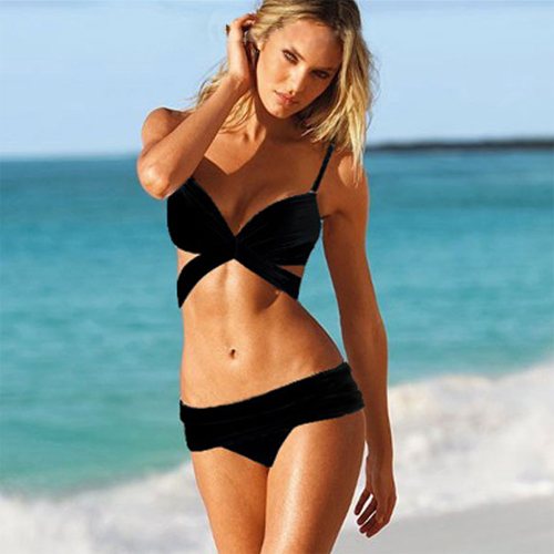 maillot de bain bikini triangle pic2