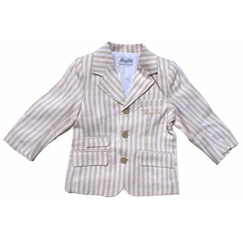 manteau raye lin garcons TT4167