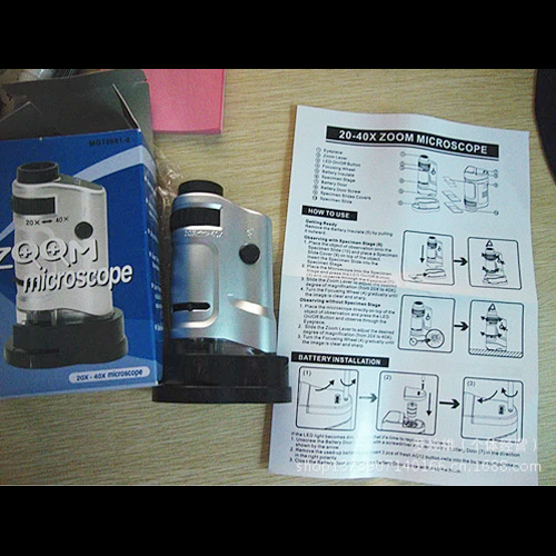 microscope de poche 20 40X pic5