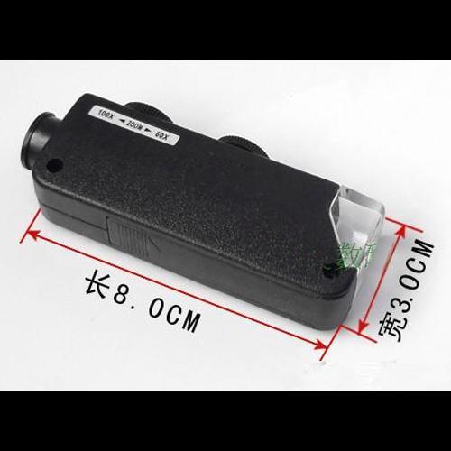microscope de poche 60 100X pic2