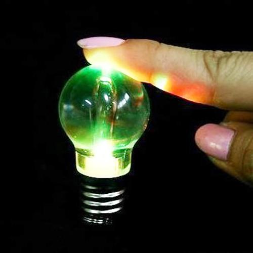 mini ampoule porte cle 7 couleurs pic2