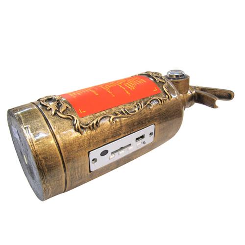 mini haut parleur extincteur pic2