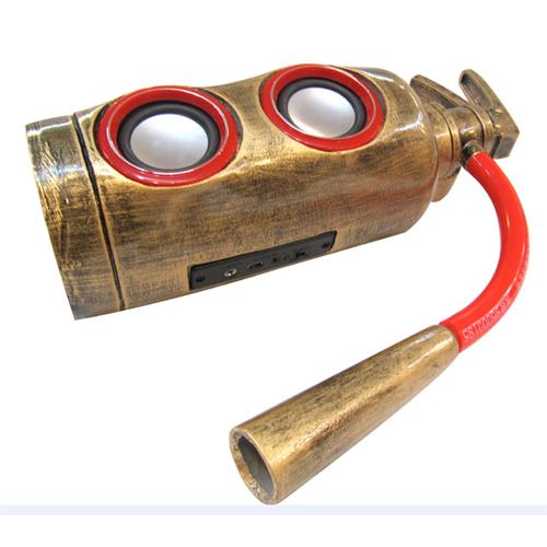 mini haut parleur extincteur pic3