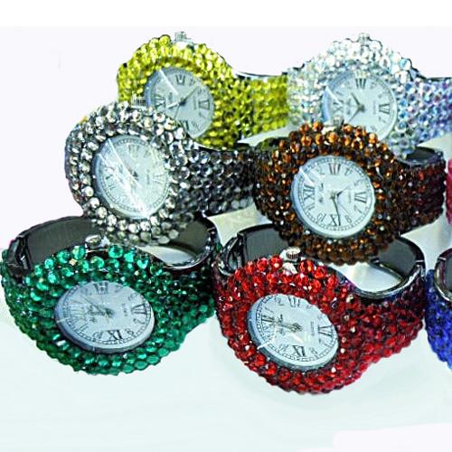 montre bracelet strass WS1140 pic2