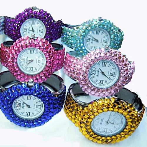 montre bracelet strass WS1140 pic3