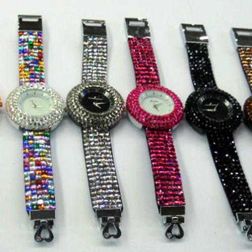 montre bracelet strass WS1142 pic3
