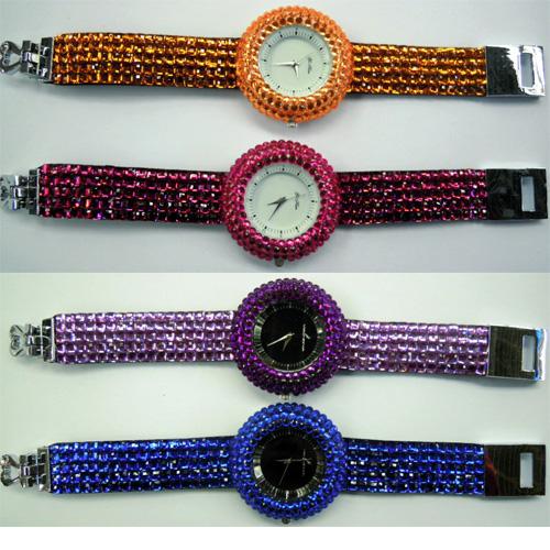 montre bracelet strass WS1142
