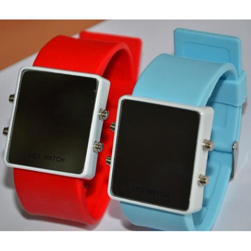 montre couleur affichage led rouge pic2