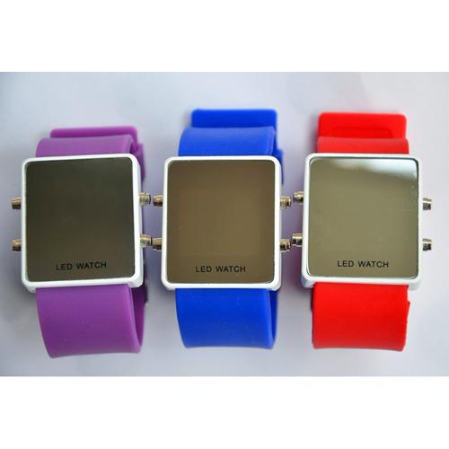 montre couleur affichage led rouge pic6