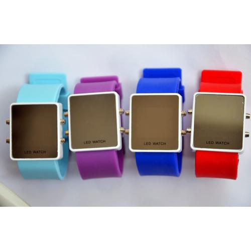montre couleur affichage led rouge pic7