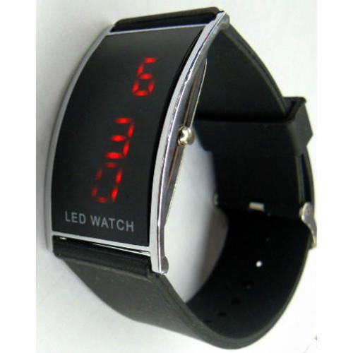 montre digitale bracelet silicone pic4