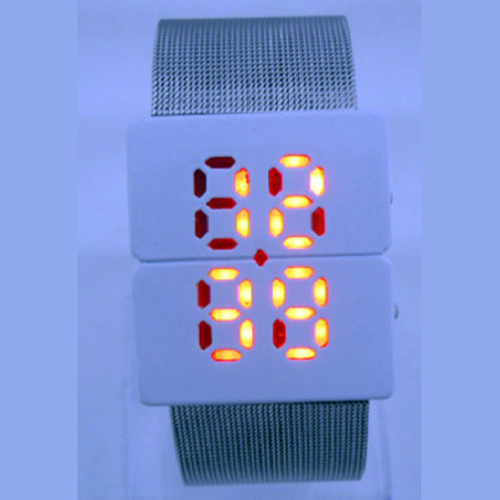 montre led boitier crystal GL1063 pic2