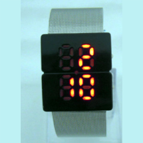 montre led boitier crystal GL1063