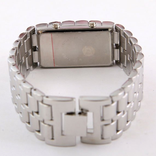montre led design bracelet acier pic3