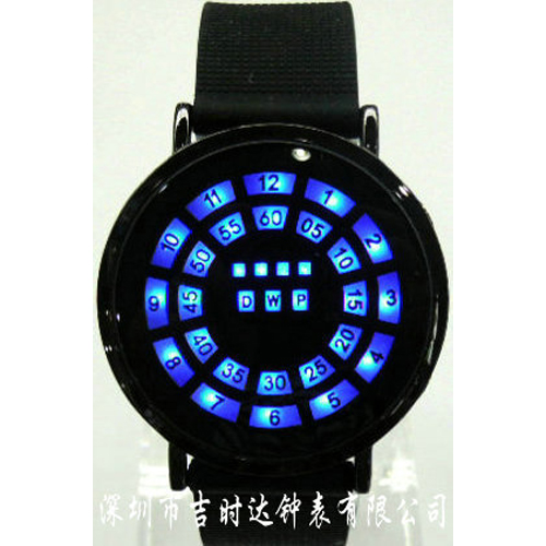 montre led fantaisie G1101 pic2