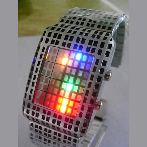 montre led multicolore GL1080