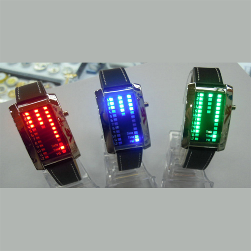montre metal 29 leds GL1006 pic2