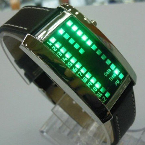 montre metal 29 leds GL1006 pic3