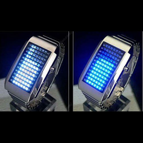 montre metal 72 leds GL1001 pic4