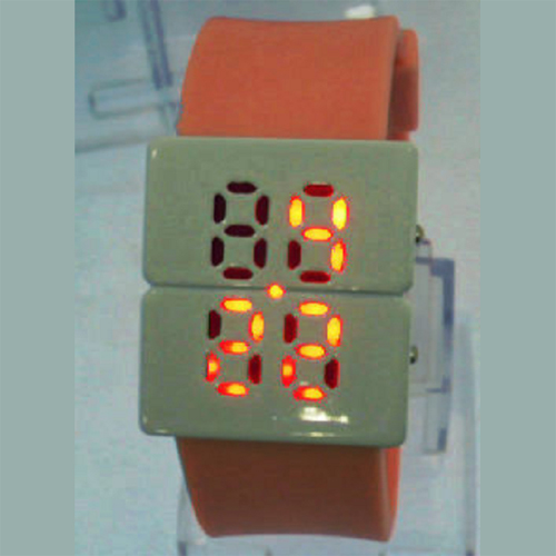 montre metal digitale led GL1073