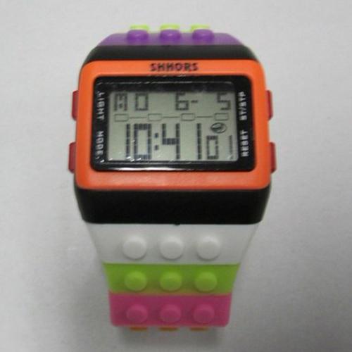 montre multicolore lego pic2