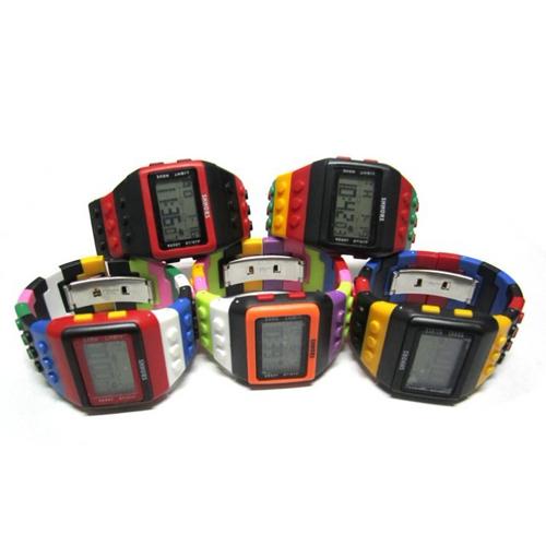 montre multicolore lego pic6