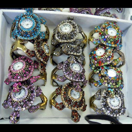 montre strass tortue WS1147 pic2