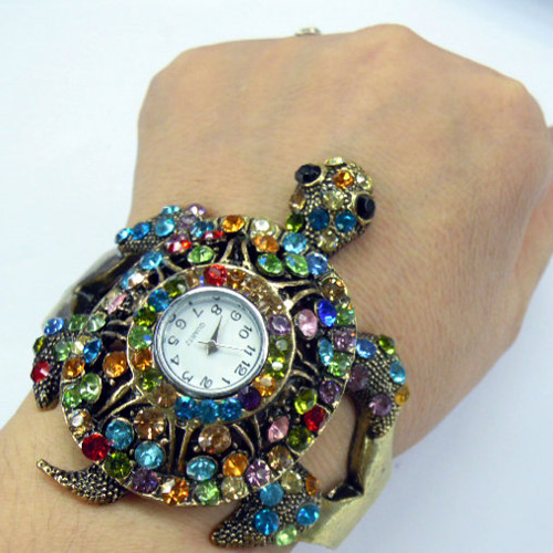 montre strass tortue WS1147