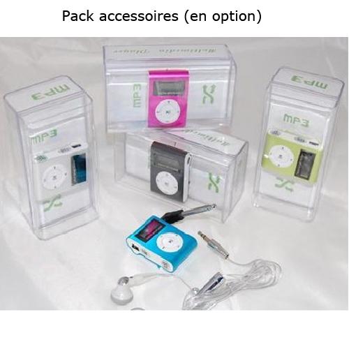 mp3 pack accessoires