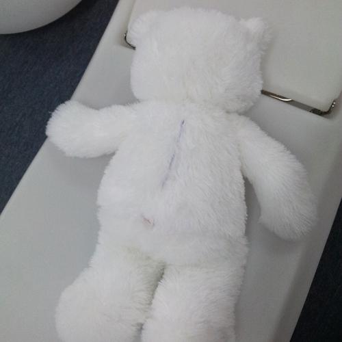 ours en peluche lumineux 80cm pic9
