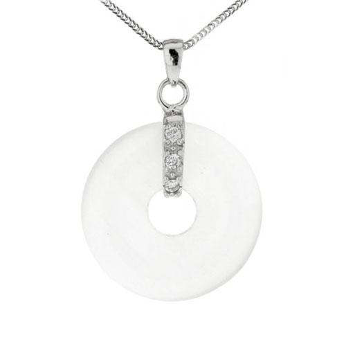 pendentif argent zirconium diamant 8300115