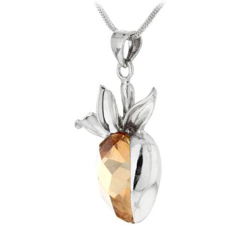 pendentif femme argent cristal 8300085 pic2