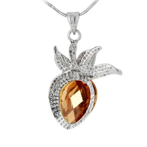 pendentif femme argent cristal 8300085 pic3