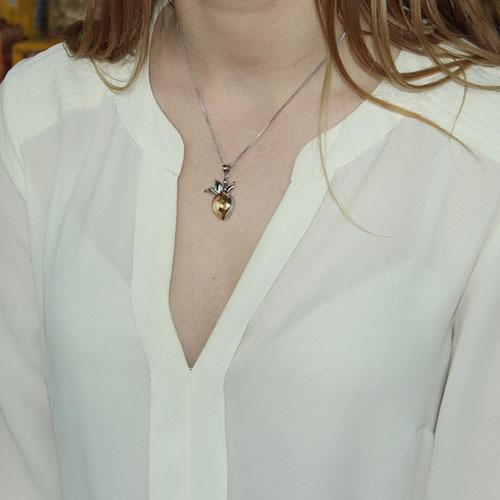 pendentif femme argent cristal 8300085 pic4
