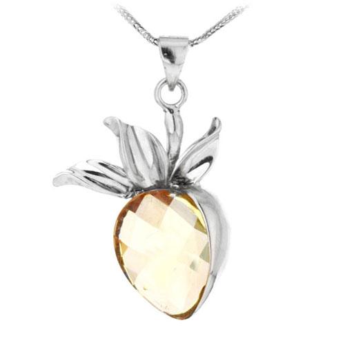 pendentif femme argent cristal 8300085