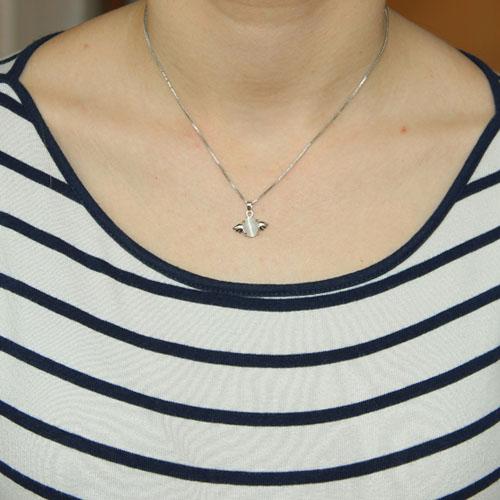 pendentif femme argent diamant 8300049 pic4